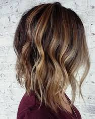 Balayage, highlights babylights of Ombre